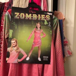 Girls Disney's Zombies Addison costume 7/8 GUC